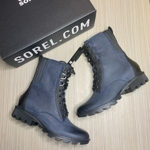 Sorel Phoenix Lace Up Waterproof Combat Boots